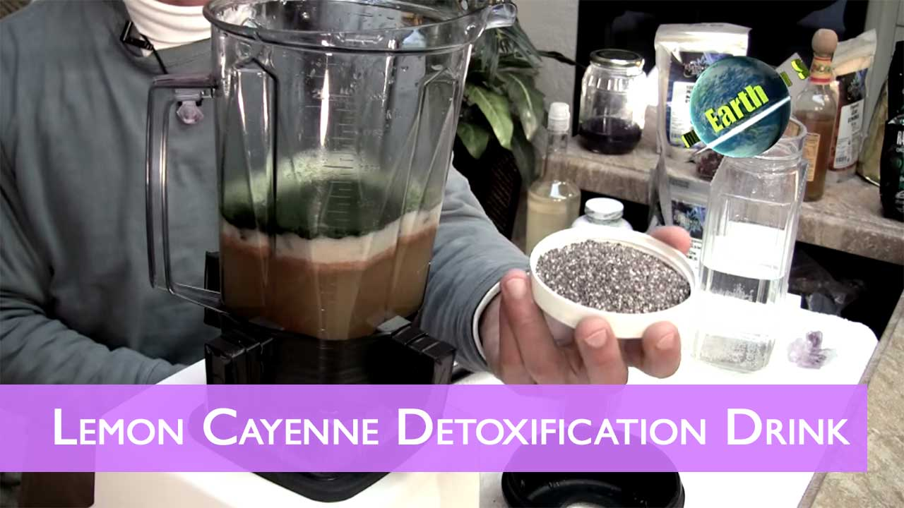 Lemon Cayenne Detoxification Drink