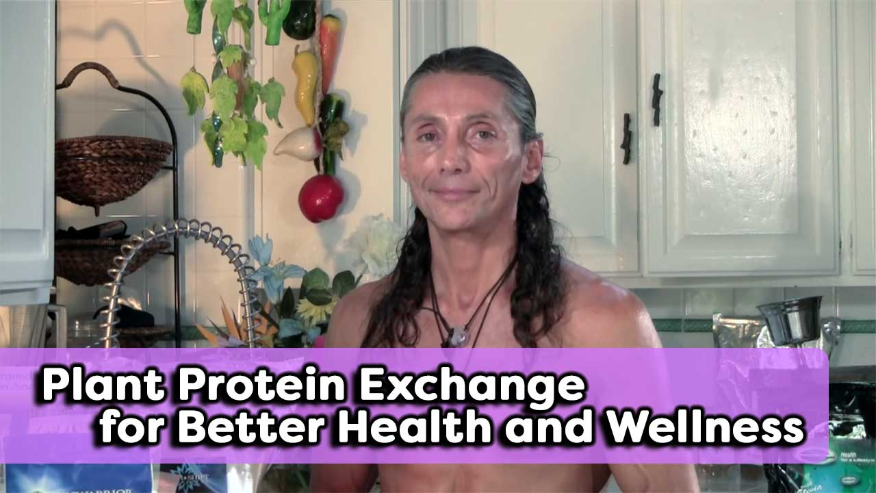 Plant Protein Exchange for Better Health and Wellness
