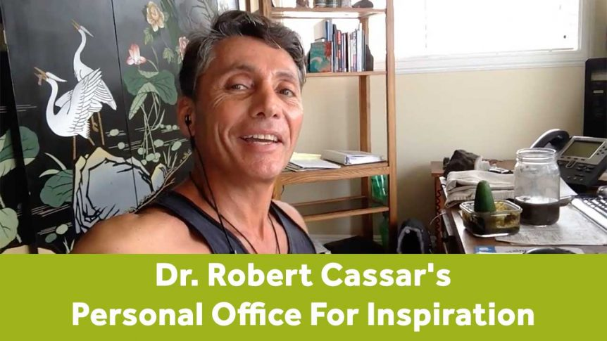 Dr. Robert Cassar's Personal Office For Inspiration