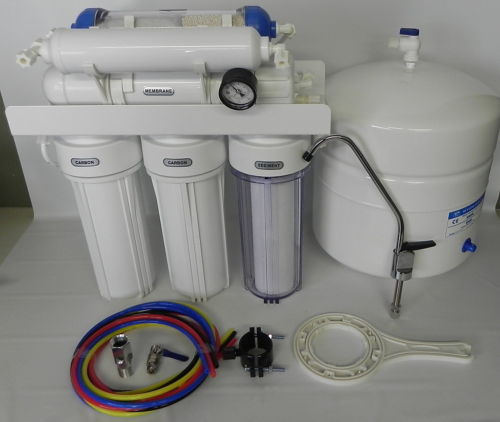 6 Stage Ro Reverse Osmosis Filter System Earther Academy