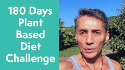 180 Days Plant Based Diet Challenge