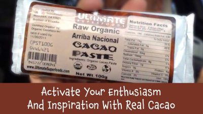 Activate Your Enthusiasm And Inspiration With Real Cacao