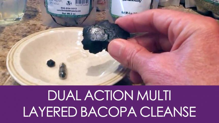 Dual Action Multi Layered Bacopa Cleanse