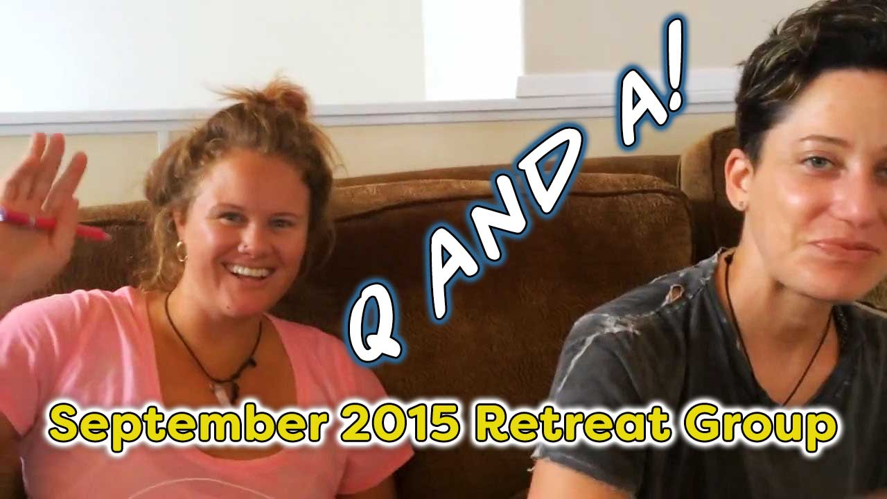 September 2015 Retreat Group Q and A