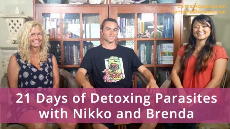 21 Days of Detoxing Parasites with Nikko and Brenda