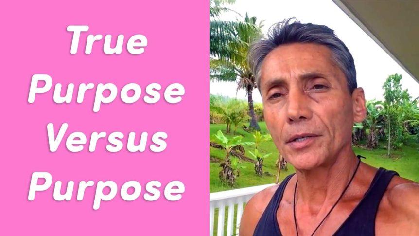 True Purpose Versus Purpose