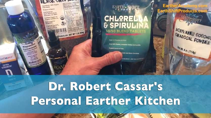 Dr. Robert Cassar's Personal Earther Kitchen