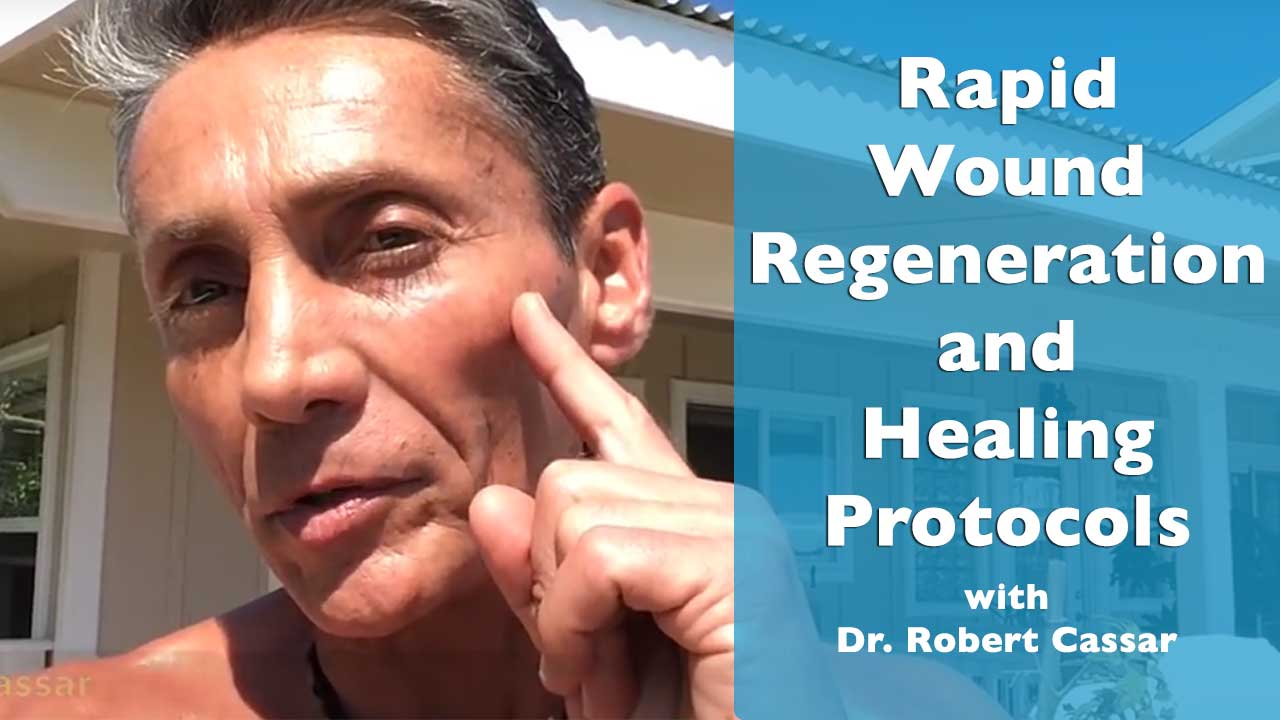 Rapid Wound Regeneration and Healing Protocols