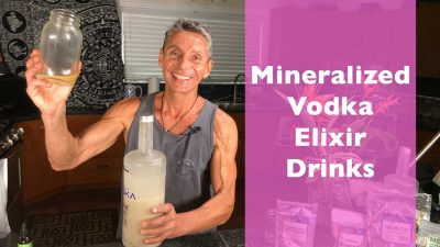 Mineralized Vodka Elixir Drinks