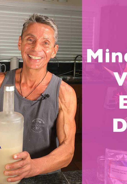 Mineralized Vodka Elixir Drinks