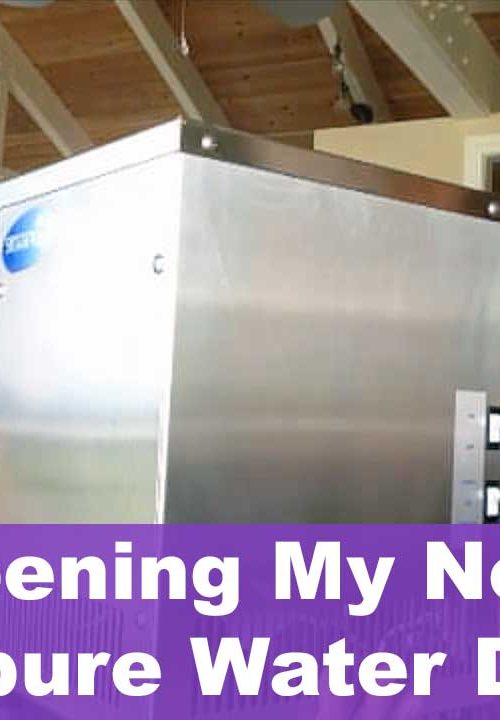 Opening My New Steampure Water Distiller