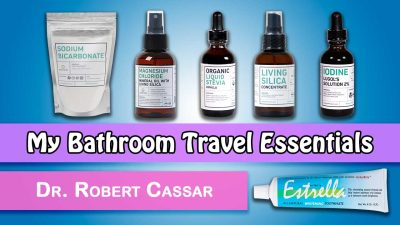 My Bathroom Travel Essentials