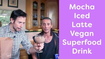 Mocha Iced Latte Vegan Superfood Drink