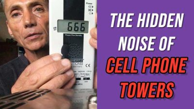 Hidden Noise of Cell Phone Towers