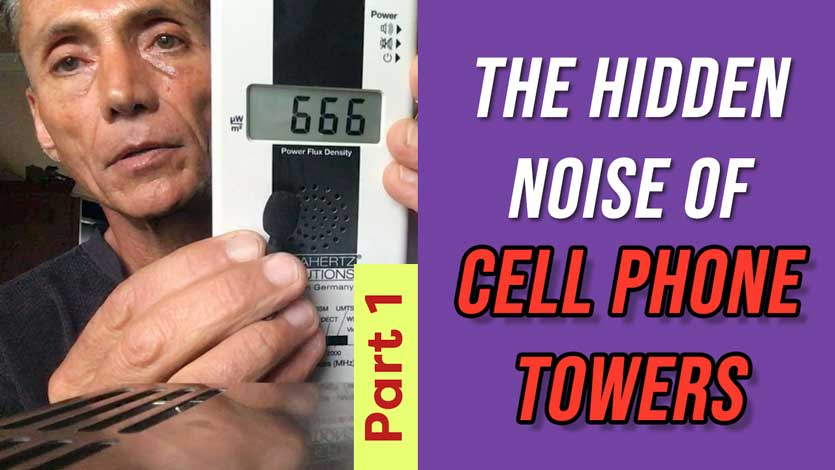 Hidden Noise of Cell Phone Towers Part 1