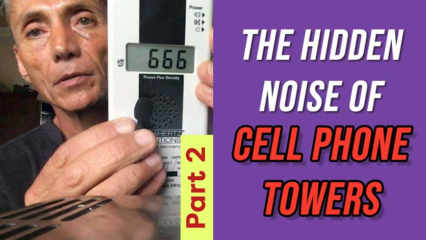 Hidden Noise of Cell Phone Towers Part 2