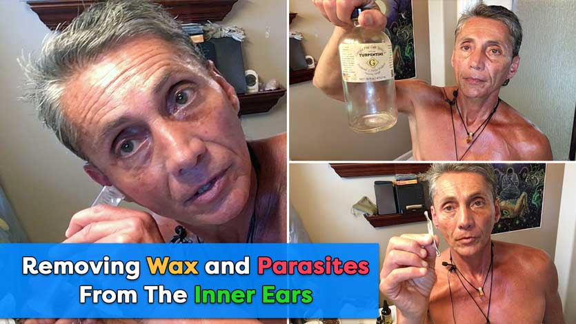 Removing Wax and Parasites From The Inner Ears