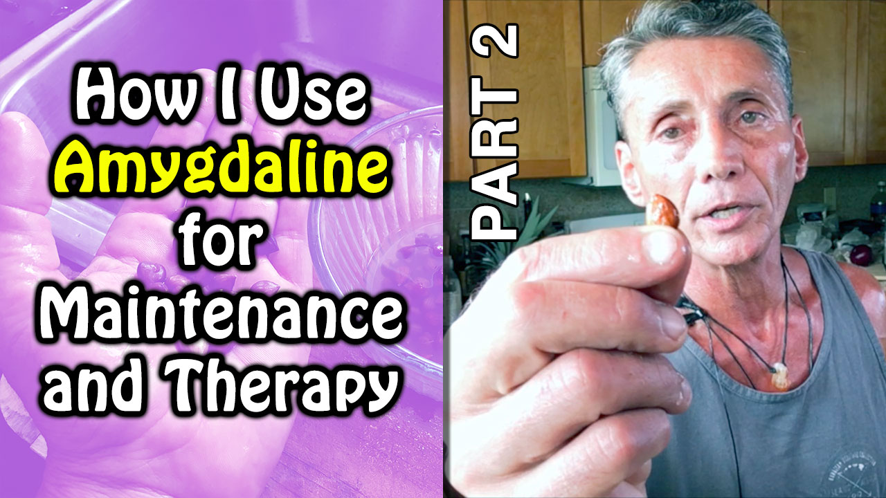 How I Use Amygdaline for Maintenance and Therapy Part 2