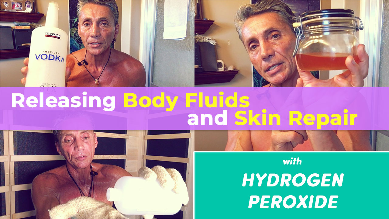 Releasing Body Fluids and Skin Repair with Hydrogen Peroxide