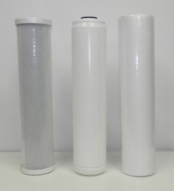 "Replacement Filter Kit for 3 Stage 20"" Whole House Water System"