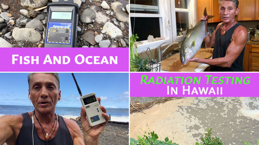 Fish And Ocean Radiation Testing In Hawaii