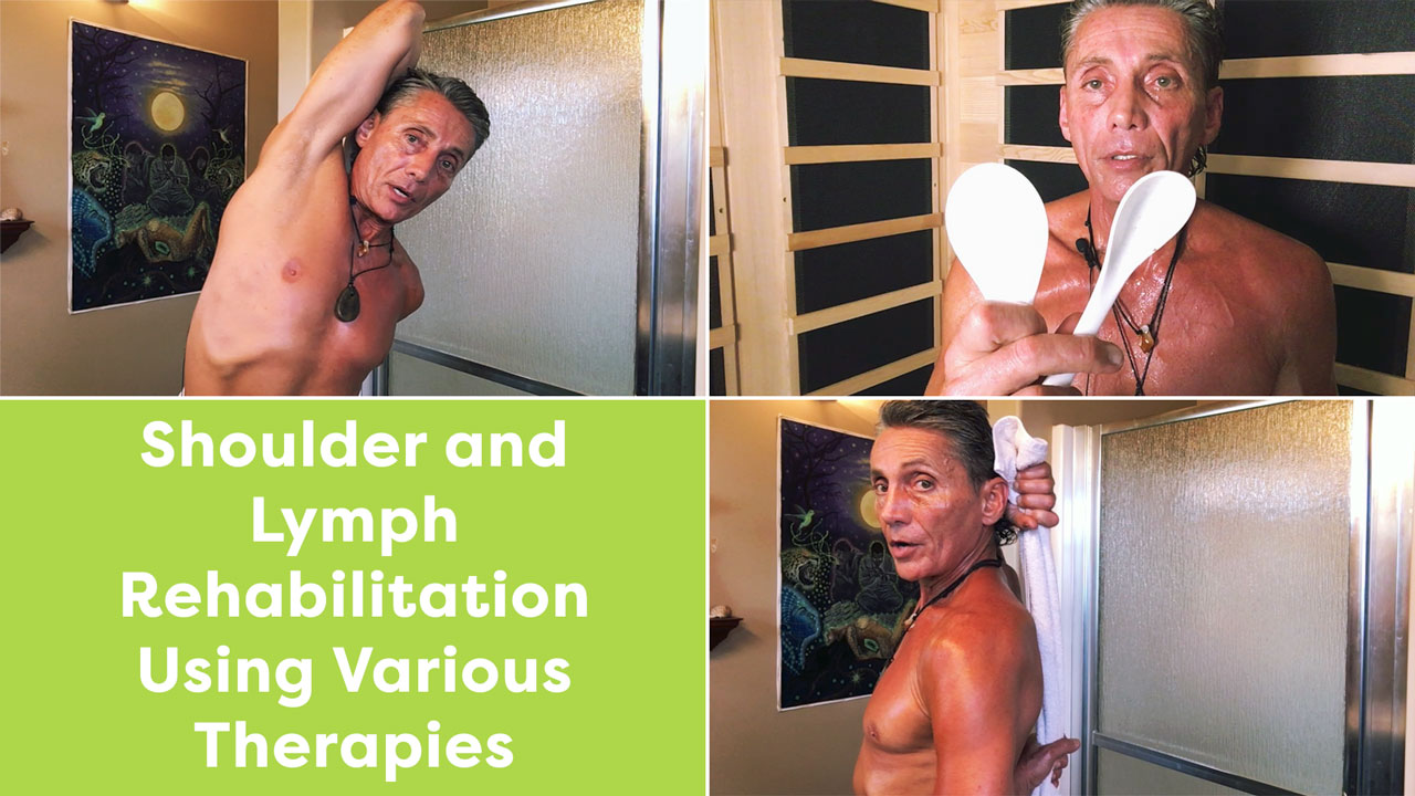 Shoulder and Lymph Rehabilitation Using Various Therapies