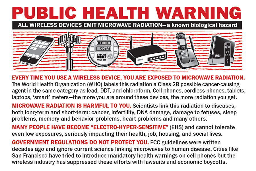 All Wireless Devices Emit Microwave Radiation - Public Health Warning