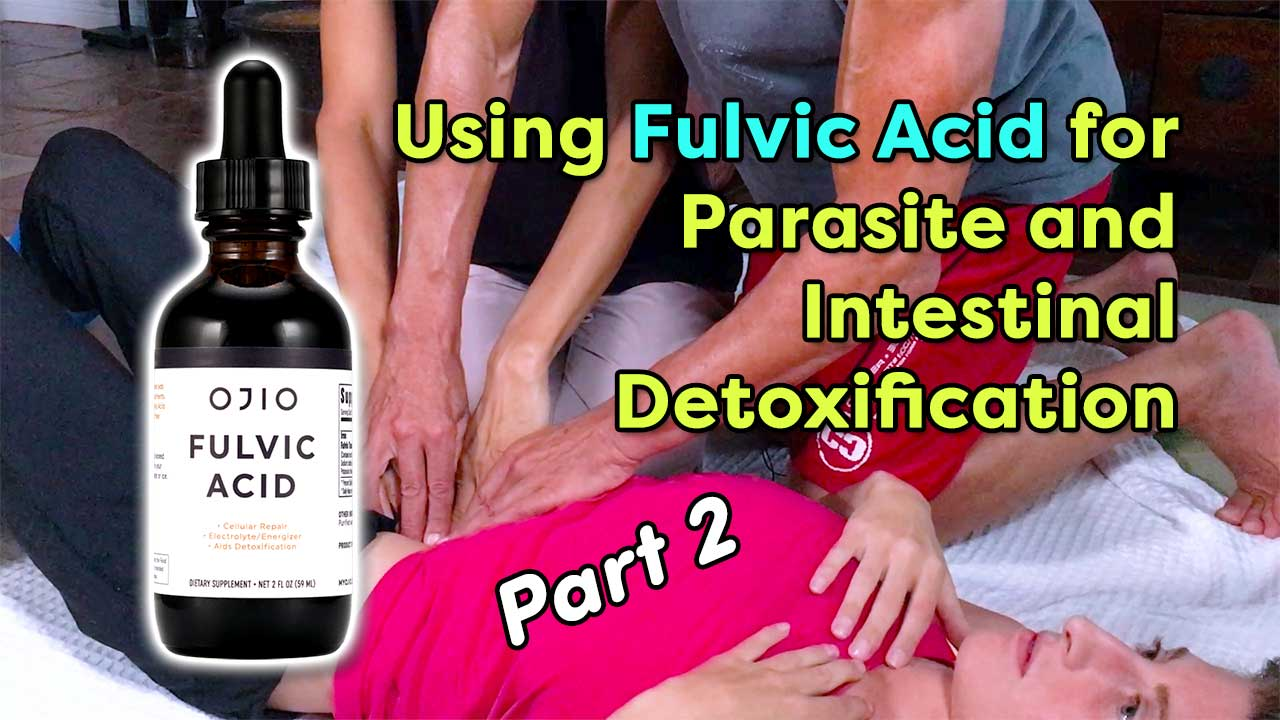 Using Fulvic Acid for Parasite and Intestinal Detoxification Part 2