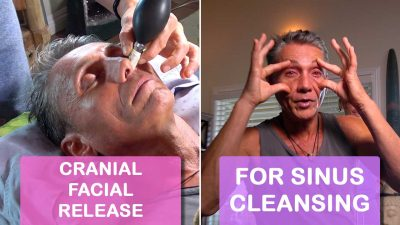 Cranial Facial Release For Sinus Cleansing