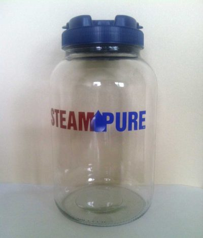 SteamPure BPA Free, Lead Free 1 Gallon Glass Jar