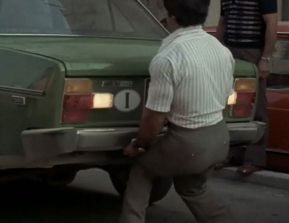 Dr. Franco Columbu Deadlifting a Car