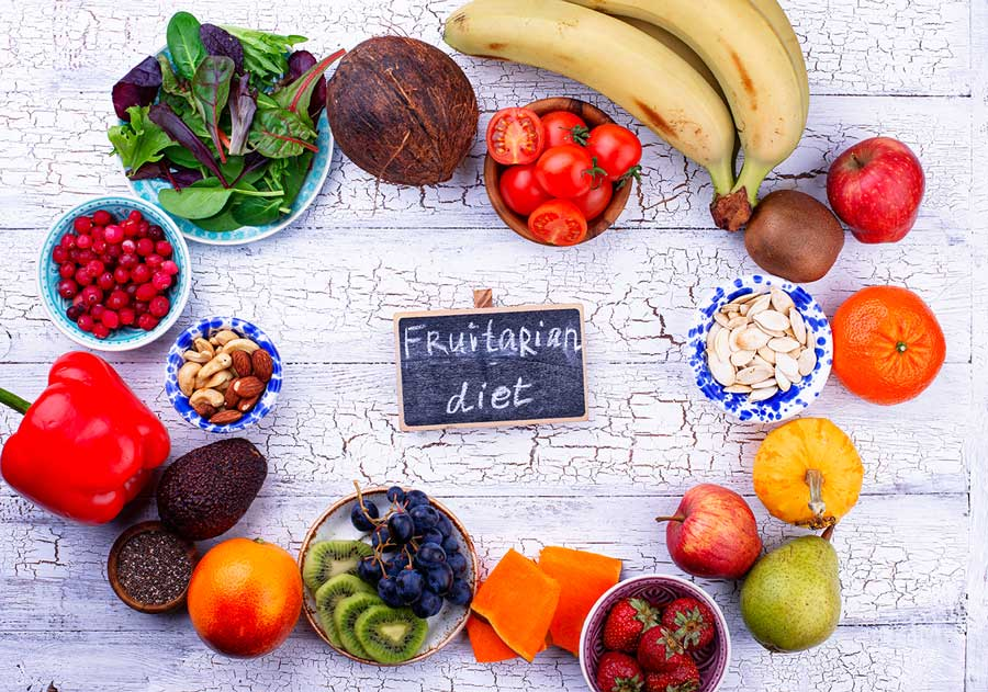 Fruits, Nuts and Seeds for Fruitarian Diet