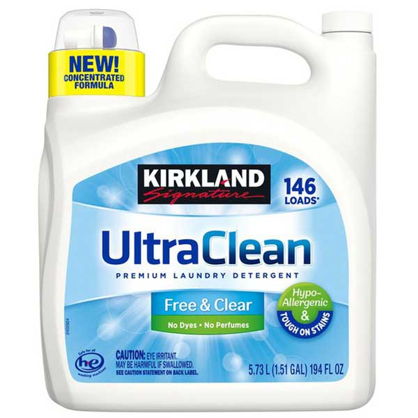 Kirkland Ultra Clean Free and Clear