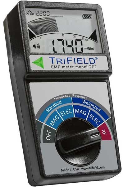 Magnetic Field Strength Meter by Trifield