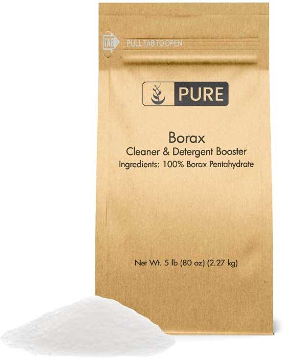 Pure Organics Borax Powder 5 lbs