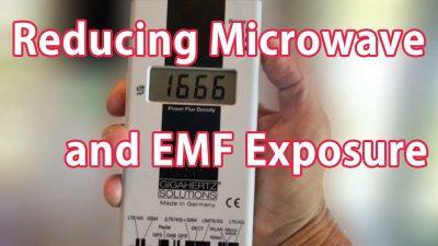 Reducing Microwave and EMF Exposure