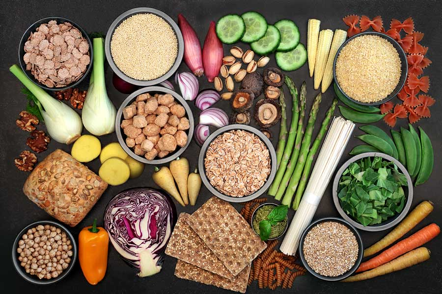 Superfoods high in protein, vitamins, minerals, omega 3, anthocyanins, antioxidants, smart carbs & dietary fibre