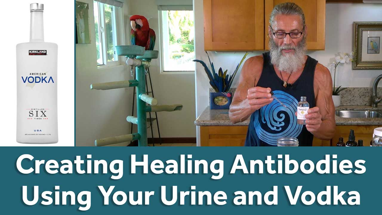 Creating Healing Antibodies Using Your Urine and Vodka