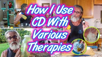 How I Use CD With Various Therapies