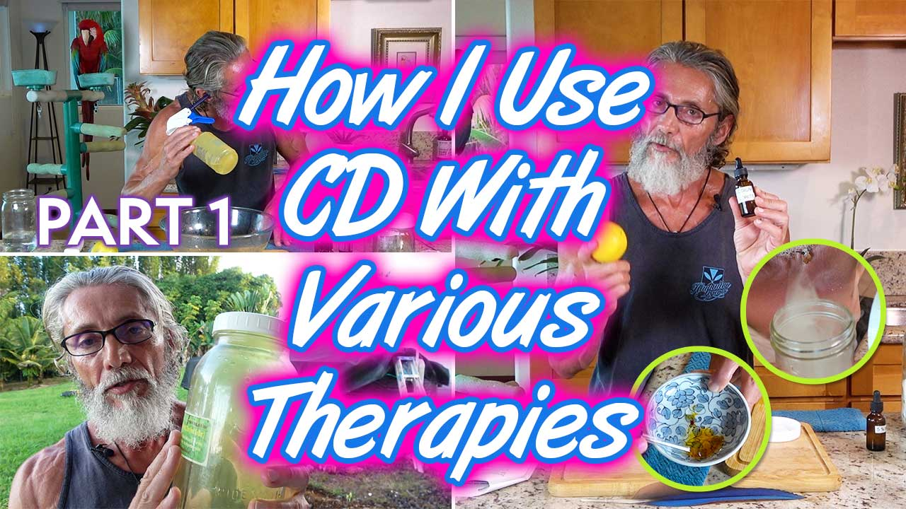 How I Use CD With Various Therapies Part 1