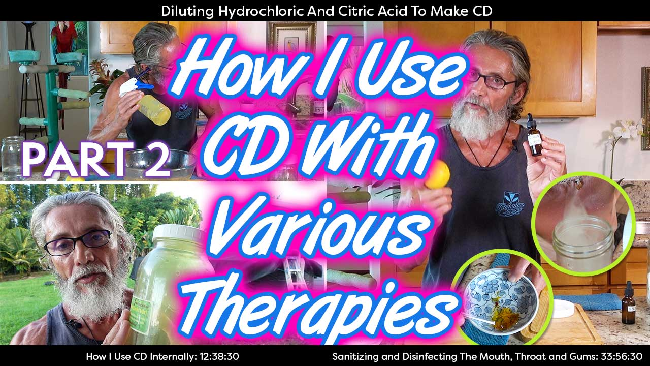 How I Use CD With Various Therapies Part 2