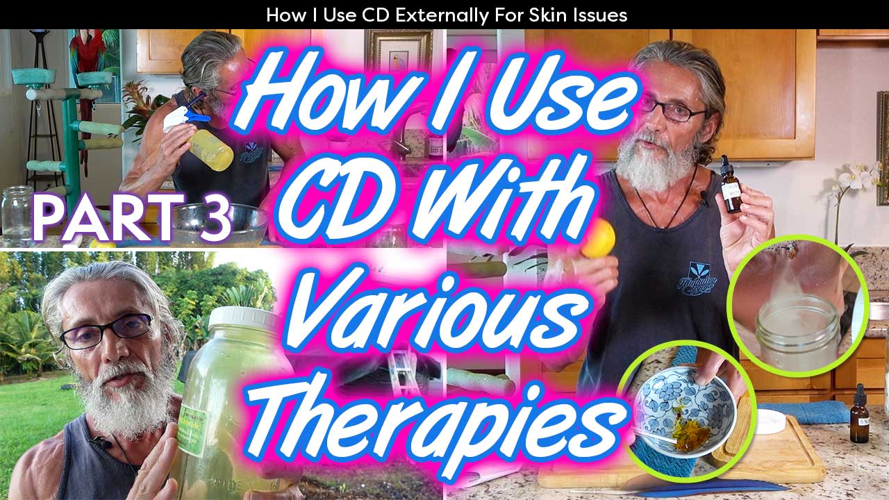 How I Use CD With Various Therapies Part 3