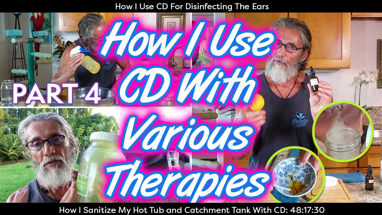 How I Use CD With Various Therapies Part 4